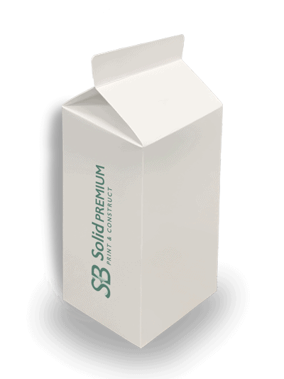 SB Solid milk carton